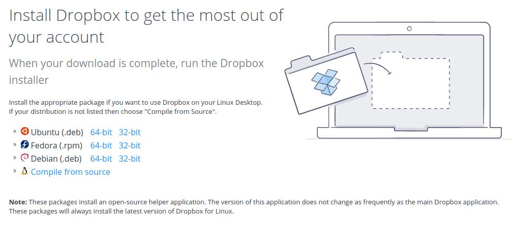 download-dropbox-linux